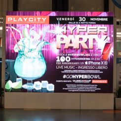 QubicaAMF – Evento Hyperparty Bowling Playcity – Centro Bicocca, Milano