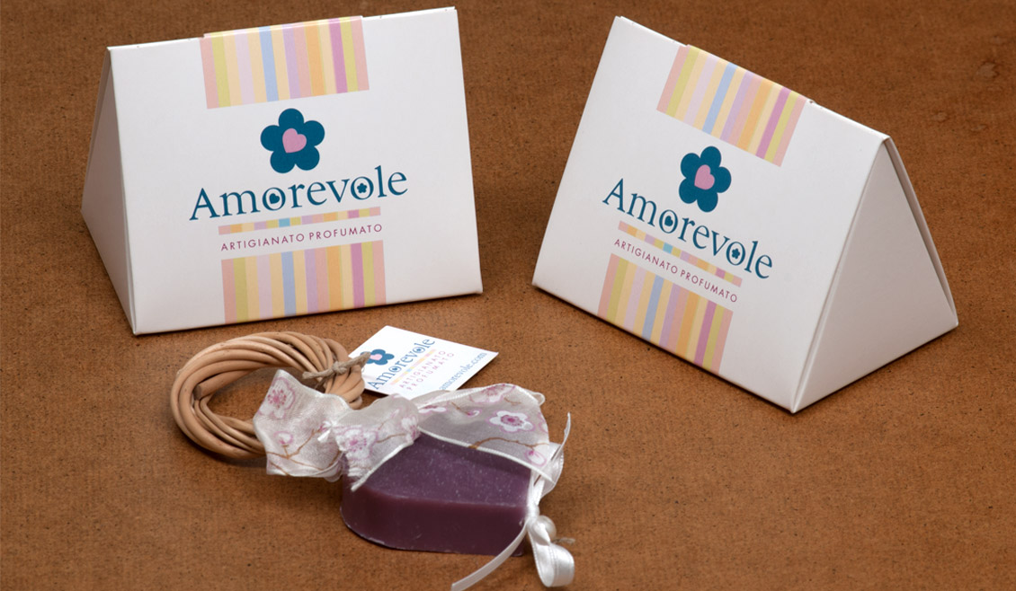 01 Packaging Corporate Identity Amorevole Sapone Ricreativi Bologna
