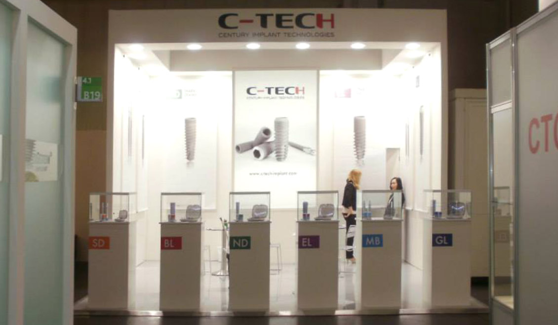 02 Allestimento Fiera C Tech Implant Ricreativi Bologna