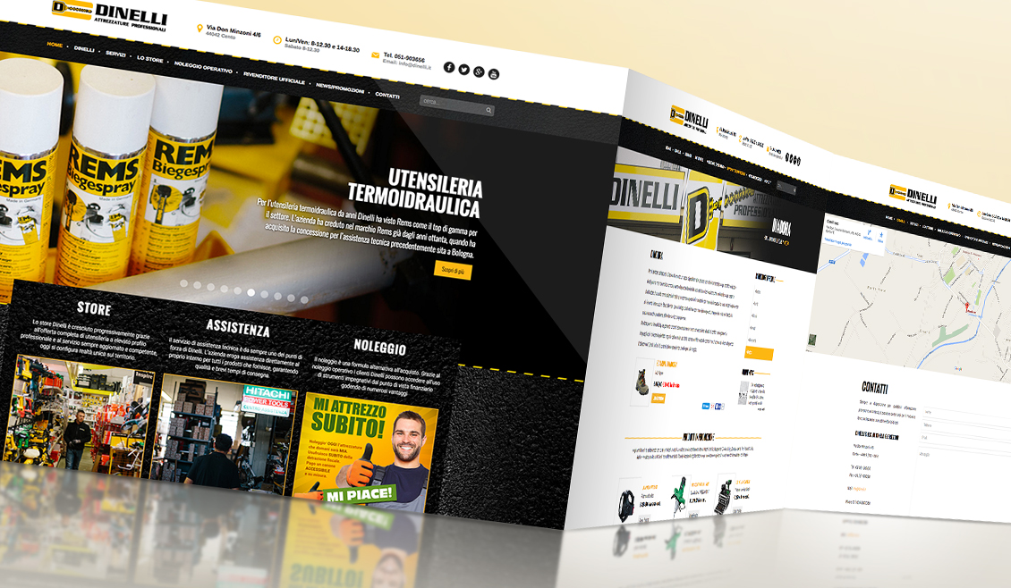 02 Website Dinelli Ricreativi Bologna