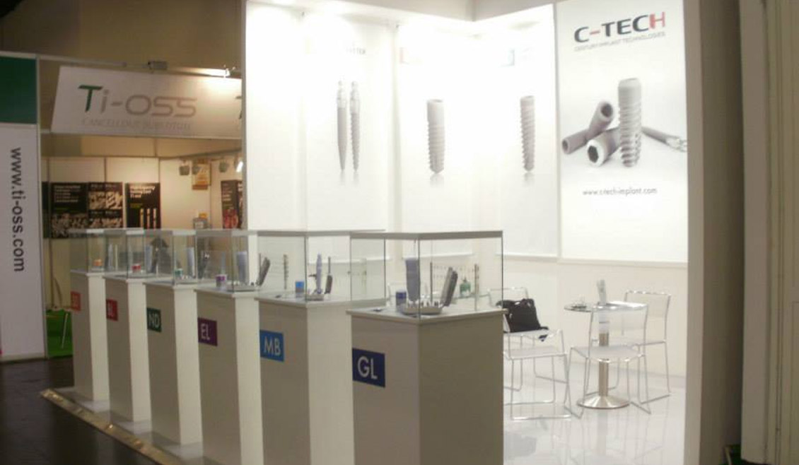 05 Allestimento Fiera C Tech Implant Ricreativi Bologna
