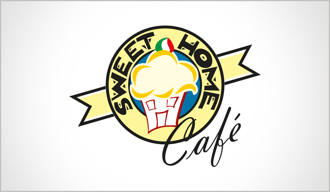 Ideazione Logo Sweet Home Cafe 02