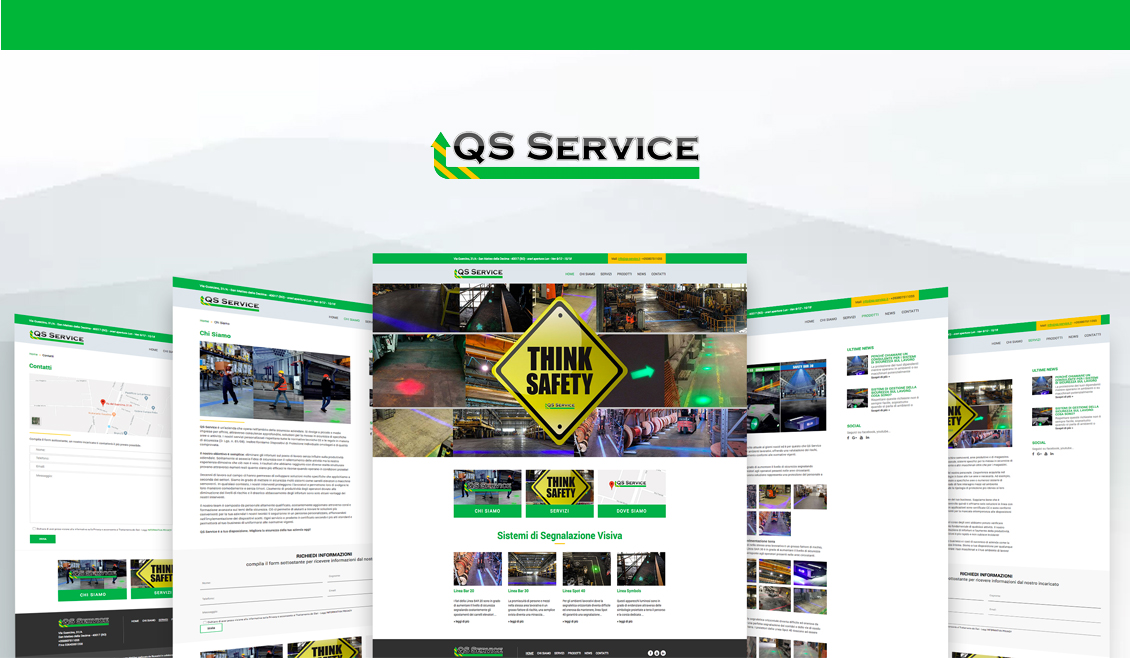 01 Website Qs Service Progetto Webbag Ricreativi