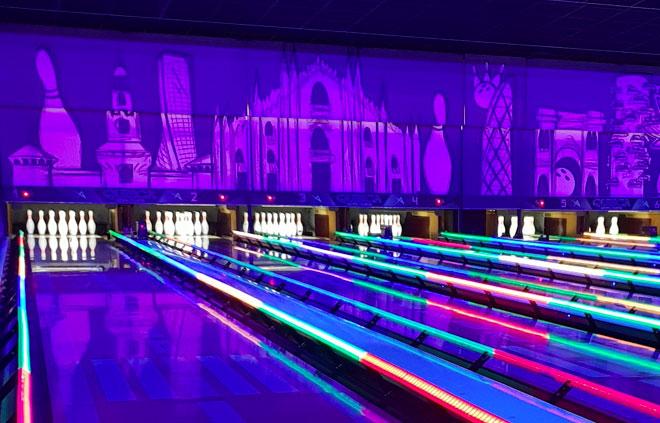 QubicaAMF – Masq Custom per Bowling Playcity – Centro Bicocca, Milano